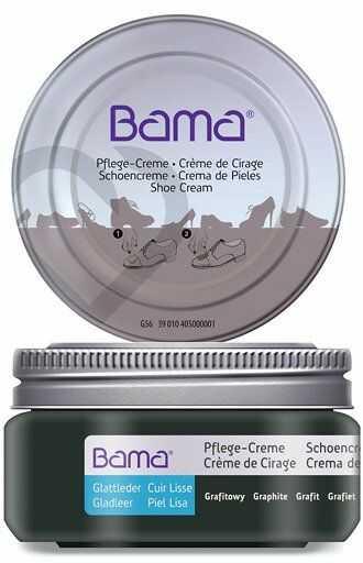 Krem do obuwia BAMA Premium 097 Grafitowy 50ml w słoiczku
