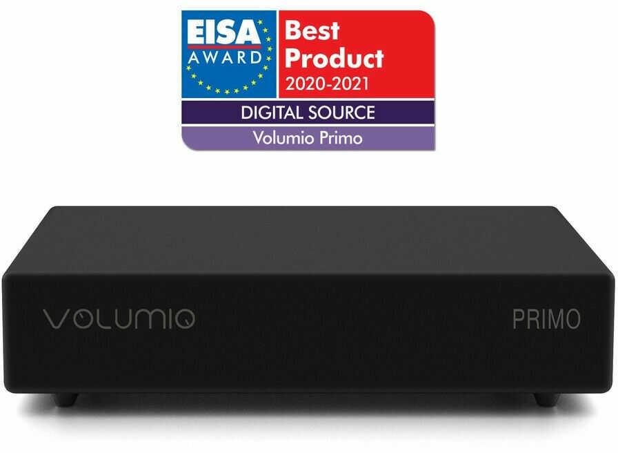 VOLUMIO PRIMO -Odtwarzacz sieciowy z DAC Wi-Fi HDMI Tidal (+gfx25) +9 sklepów - przyjdź przetestuj lub zamów online+