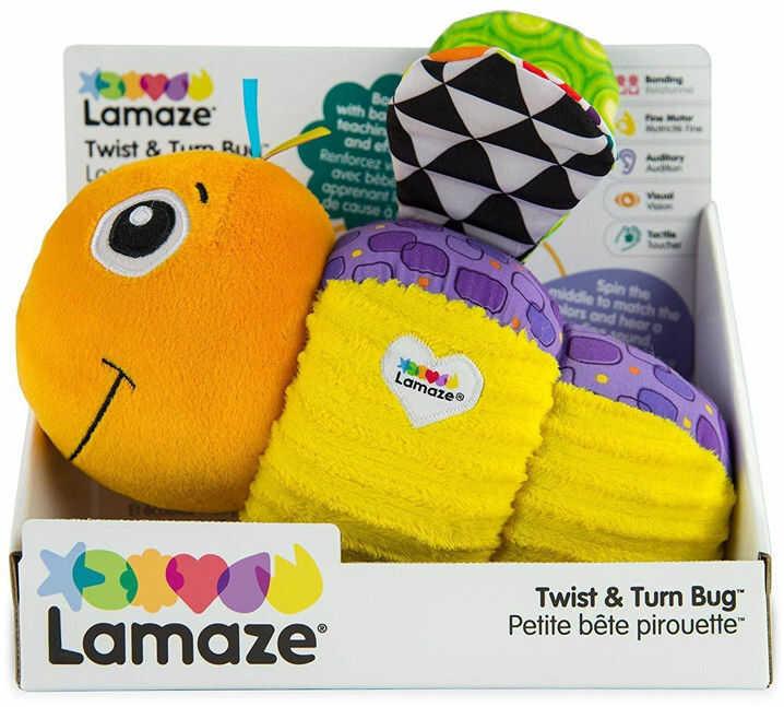 Lamaze - Kręcący się robaczek L27427