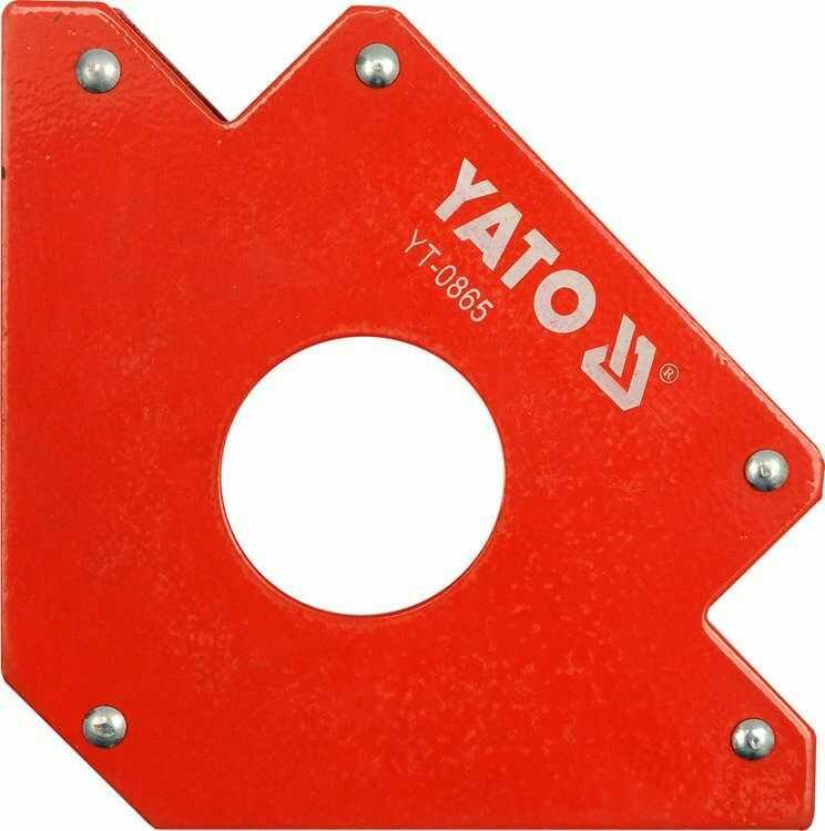 Spawalniczy kątownik magnetyczny 122x190x25 mm Yato YT-0865 - ZYSKAJ RABAT 30 ZŁ