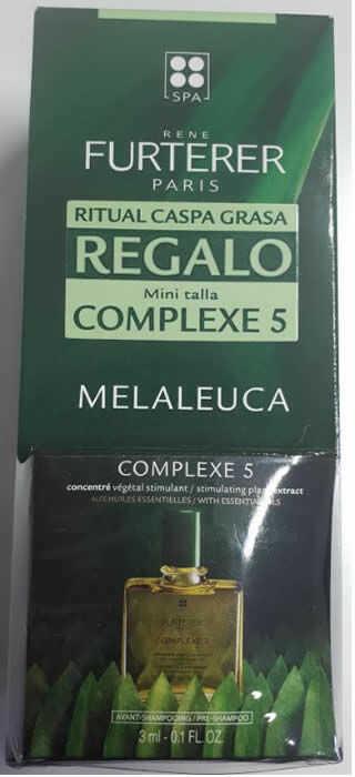 Rene Furterer Melaleuca Szampon przeciwłupieżowy 150 ml Zestaw 2 sztuk (łupież tłusty)
