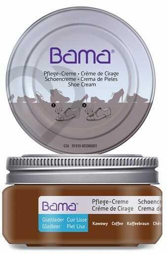 Krem do obuwia BAMA Premium 214 Kawowy 50ml w słoiczku