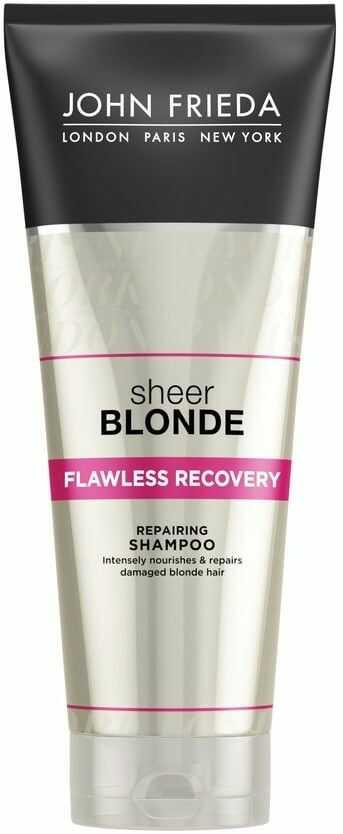 John Frieda Sheer Blonde szampon do zniszczonych włosów blond 250ml