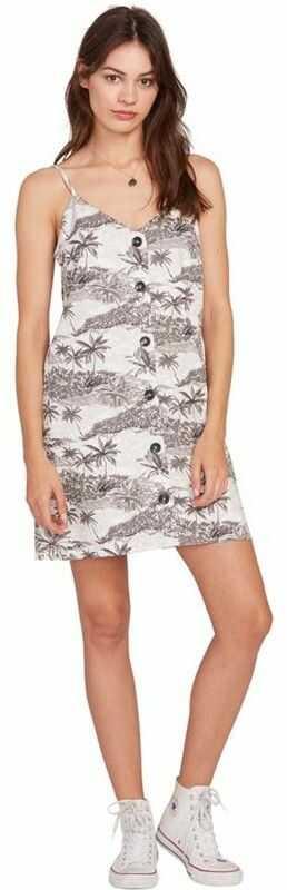 sukienka VOLCOM - Vacay Me Dress Star White (SWH)