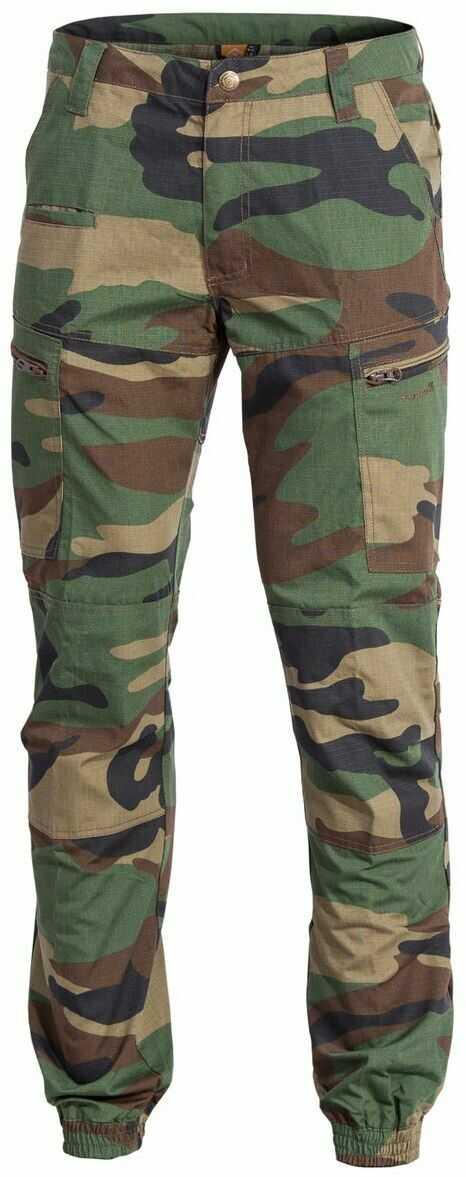 Spodnie Pentagon Ypero, Woodland (K05035-Camo-51)