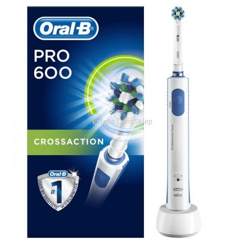 Oral-B PRO 600 CrossAction Szczoteczka elektryczna do zębów