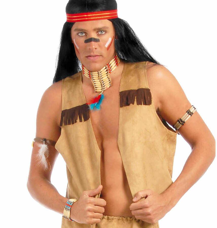 Kamizelka Indianina dla mężczyzny