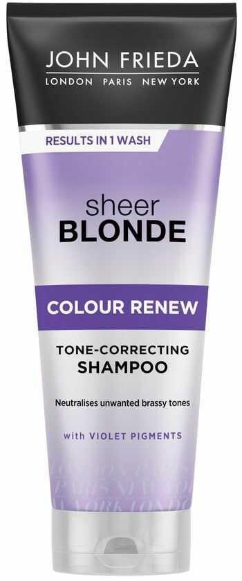 John Frieda Sheer Blonde szampon do włosów rewitalizujący odcień blondu Colour Renew 250ml
