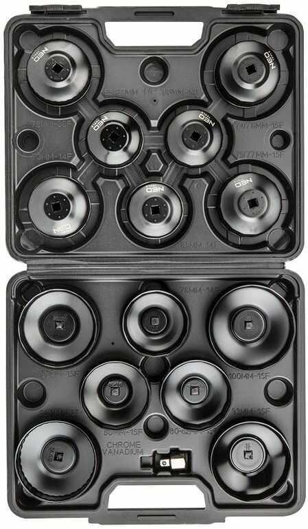 Klucze nasadowe do filtrów oleju - zestaw 16 szt. 11-243