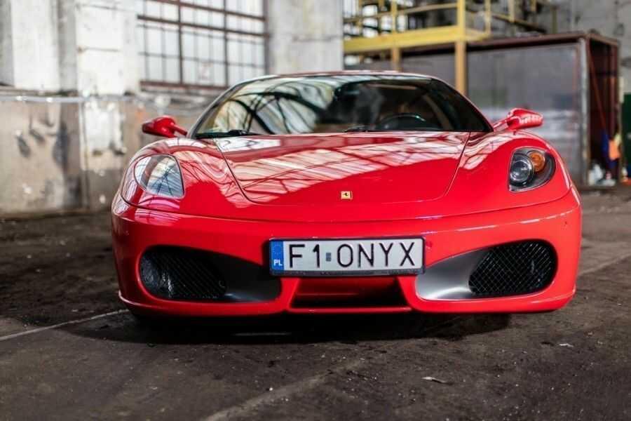 Jazda Ferrari F430 - Kraków - kierowca - I okrążenie