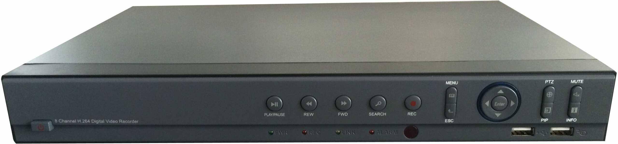 Rejestrator analogowy 8-kanałowy MZ-DH2008HS