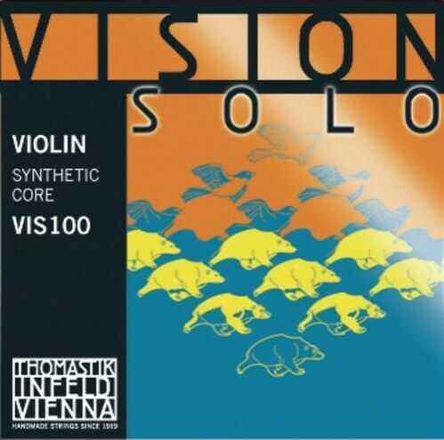 Thomastik (634263) Vision Solo VIS03 struna skrzypcowa D 4/4, aluminium