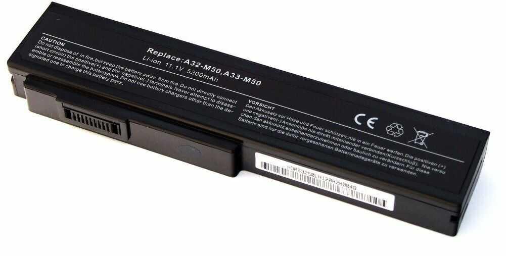 Bateria do Asus G50 G60 Pro62 4400mAh 11,1V