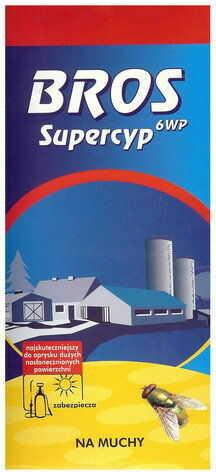 BROS Sypercyp 6WP preparat do oprysku na muchy 25 g