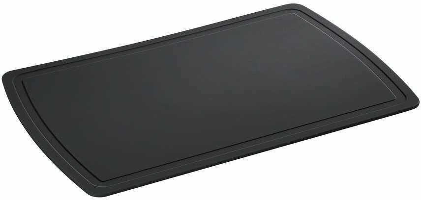 Zassenhaus - easy cut plus - deska do krojenia, 32,00 cm, czarna