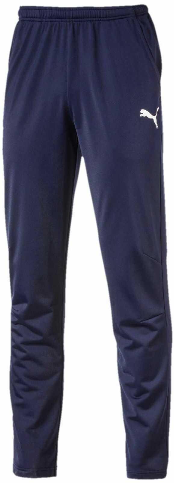 PUMA Męskie spodnie treningowe LIGA Training Pant Core niebieski Peacoat-Puma White S