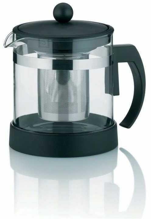 Kela - auron - dzbanek do herbaty, z zaparzaczem, 1,00 l