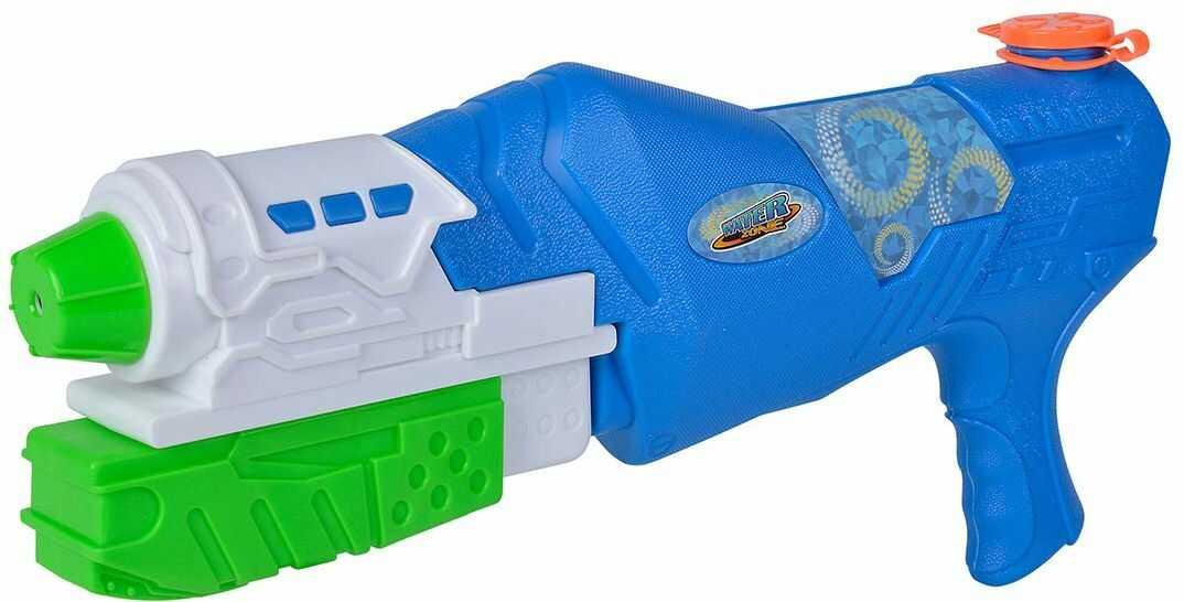 Simba 107276060 Waterzone Strike Blaster/pistolet na wodę/mechanizm pompowania/pojemność zbiornika: 900 ml/zasięg: 8 m