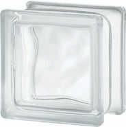 Luksfer 1111 8 Wave Nubio chmurka pustak szklany 11,5x11,5x8 cm