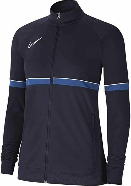 Nike Damska kurtka damska Academy 21 Track Jacket Obsidian/biały/królewski niebieski/biały L