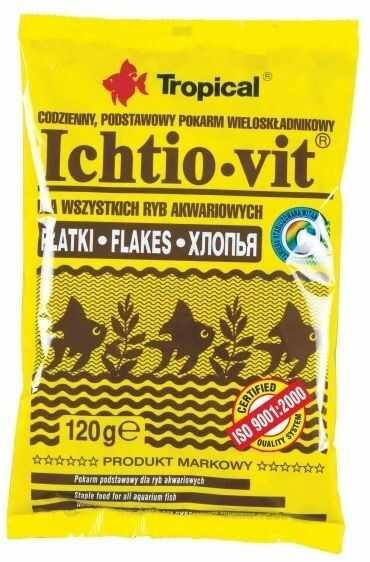 TROPICAL - Ichtio-vit worek 120g