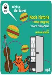 Kocie historie - nowe przygody - Audiobook.