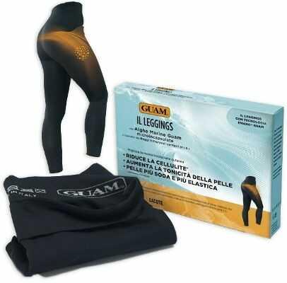 GUAM FIR IL Leggings - Leginsy wyszczuplające i antycellulitowe rozmiar S-M (40-44)