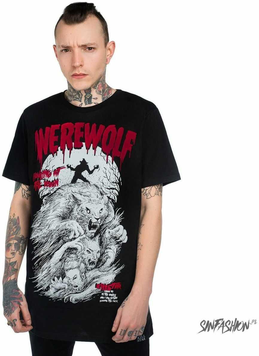 T-shirt killstar werewolf t-shirt