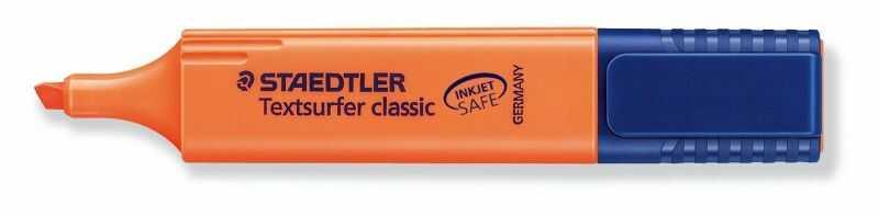 Zakreślacz Textsurfer Classic Staedtler 3716-ZAK 304693, Kolor: Pomarańczowy