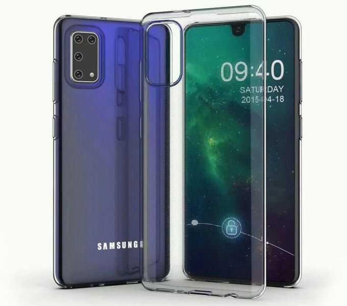 Etui Samsung A41 silikonowe przezroczyste