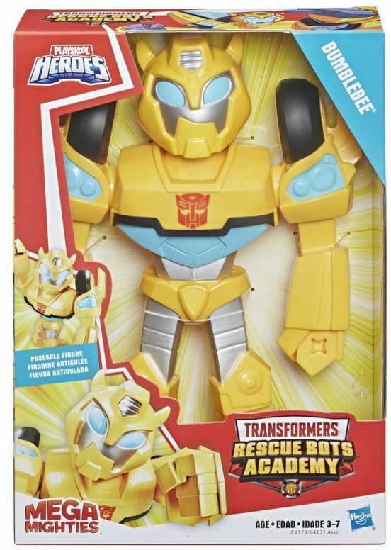 Hasbro Figurka Transformers Rescue Bot Academy Mega Mighties Bumblebee