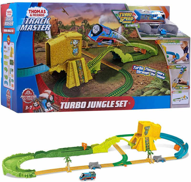 Fisher Price Track Master - Thomas Turboskok Ucieczka z dźungli FJK50
