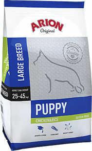 ARION Original Puppy Large Breed Chicken&Rice 12kg Darmowa dostawa