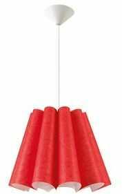 Lampa wisząca Genua Z1 czerwona