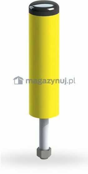 Słupek ochronny z PVC ze stalowym rdzeniem (wysokość 266 mm)