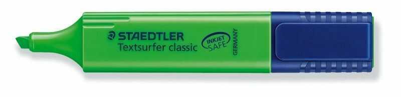Zakreślacz Textsurfer Classic Staedtler 314531 304464, Kolor: Zielony