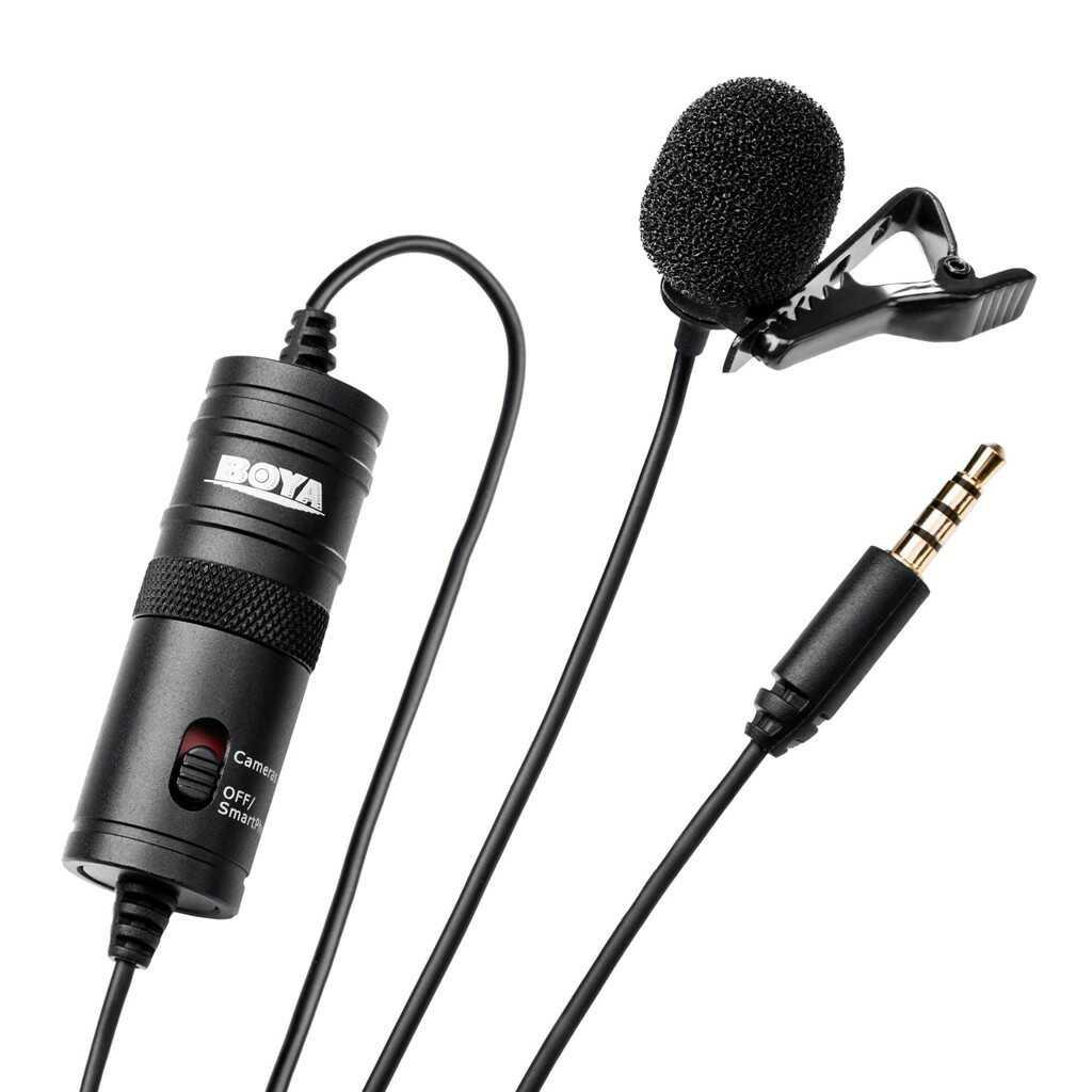 Mikrofon krawatowy Boya BY-M1 - WYSYŁKA W 24H