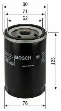 Filtr oleju - Filtr oleju - Bosch 0451103314