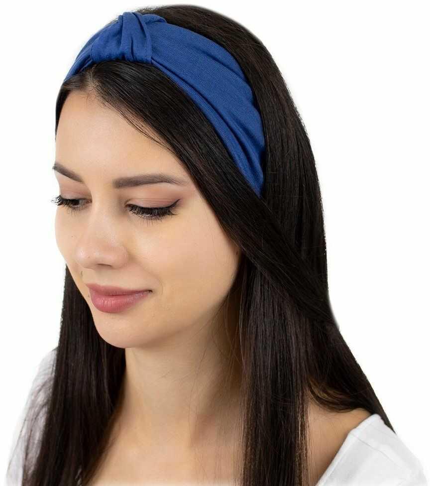 Opaska do włosów turban bandamka elastyczna węzeł