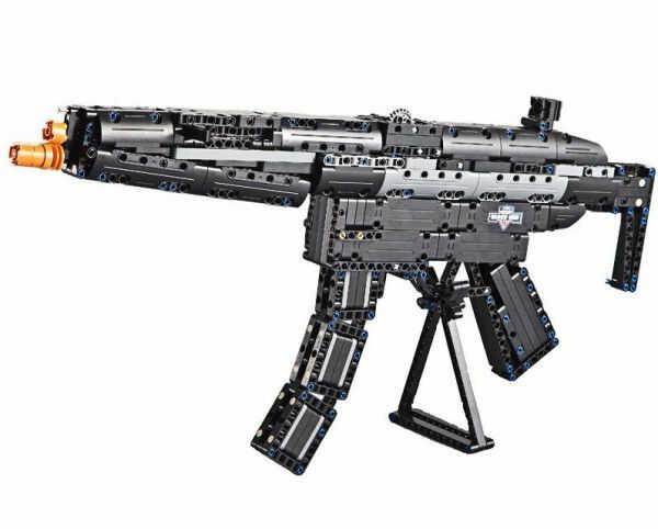 Karabin maszynowy MP5 - klocki CADA