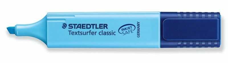 Zakreślacz Textsurfer Classic Staedtler 304464 304457, Kolor: Niebieski