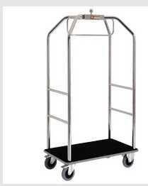 Wózek hotelowy z hamulcami 986x590x(H)1890 mm 45 kg