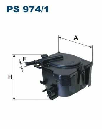 Filtr paliwa - Filtr paliwa - Filtron PS974/1
