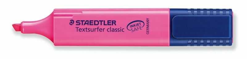Zakreślacz Textsurfer Classic Staedtler 304457 304686, Kolor: Różowy