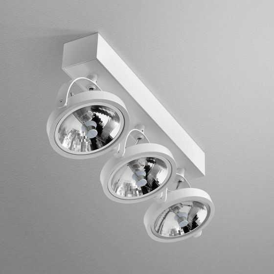 Reflektor CERES 111x3 R oprawa natynkowa 15213-0000-T8-PH AQform pojedyncza oprawa w nowoczesnym stylu