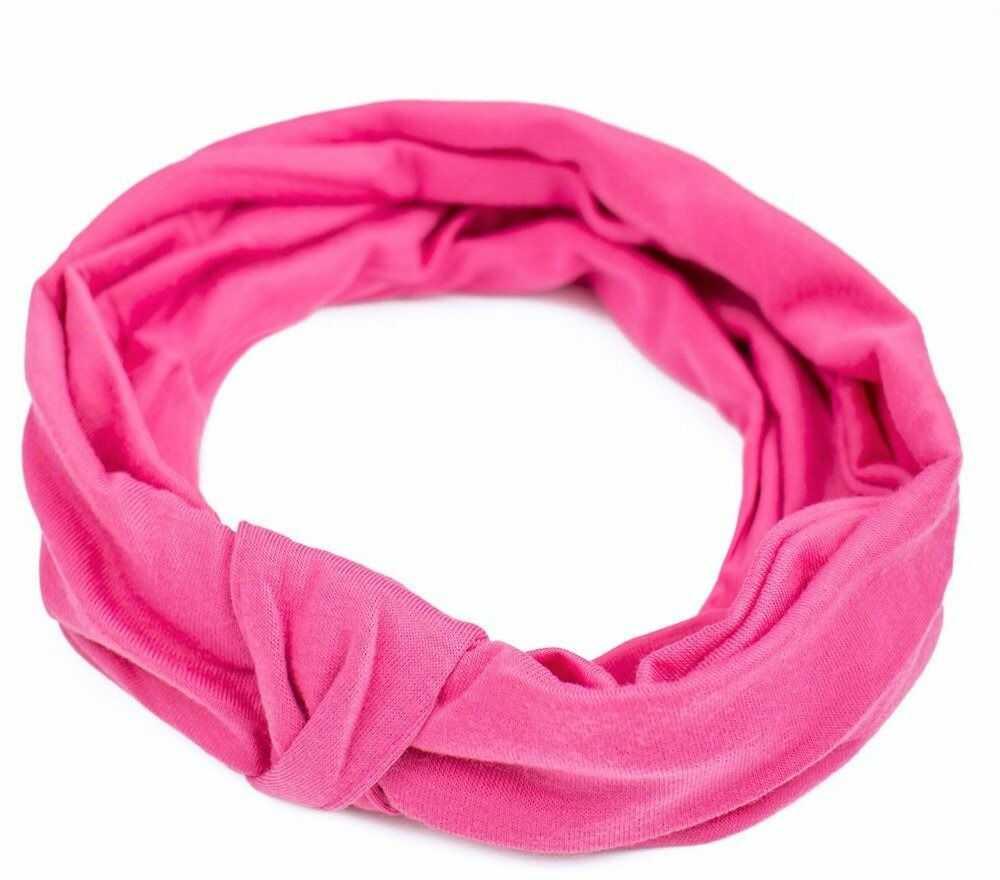 Opaska do włosów turban bandamka węzeł elastyczna