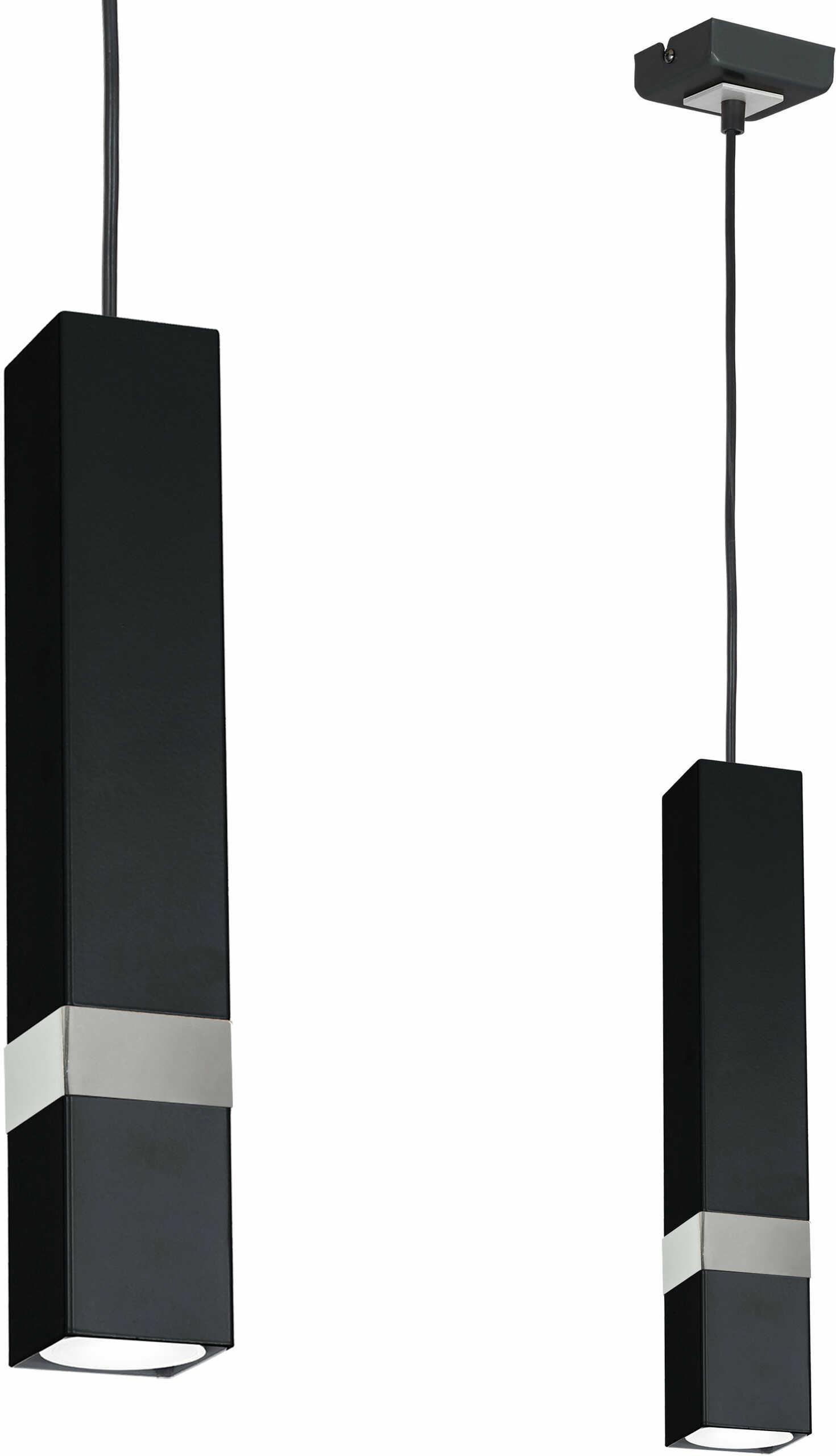 Milagro Vidar MLP6287 lampa wisząca metalowy klosz nowoczesna 1xGU10 6cm