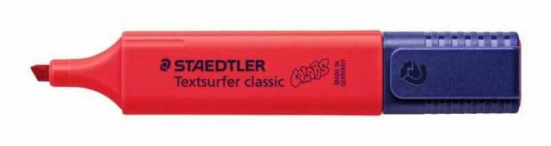Zakreślacz Textsurfer Classic Staedtler 304686 39527, Kolor: Mocny czerwony