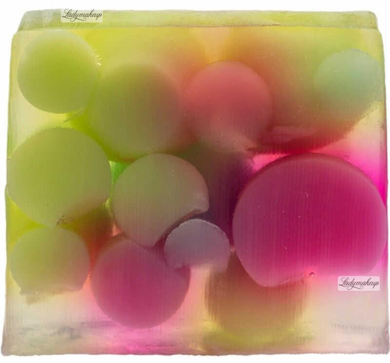 Bomb Cosmetics - Handmade Soap with Essentials Oils - Bubble Up - Mydło glicerynowe - BĄBELKI