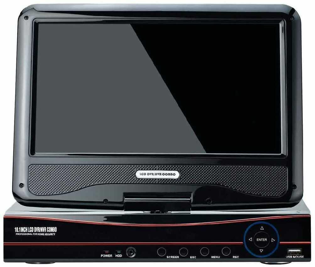 Rejestrator IP 8-kanałowy SL-P1008PH z monitorem 10.1